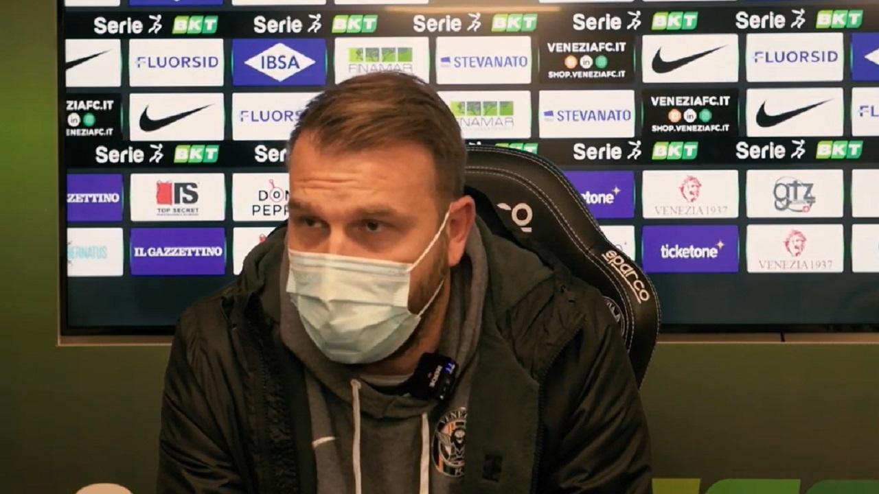 """Venezia-Brescia 0-1, la voce di Zanetti: """"Questa sconfitta ci servirà. Da Lunedì saremo di nuovo sul pezzo"""""""