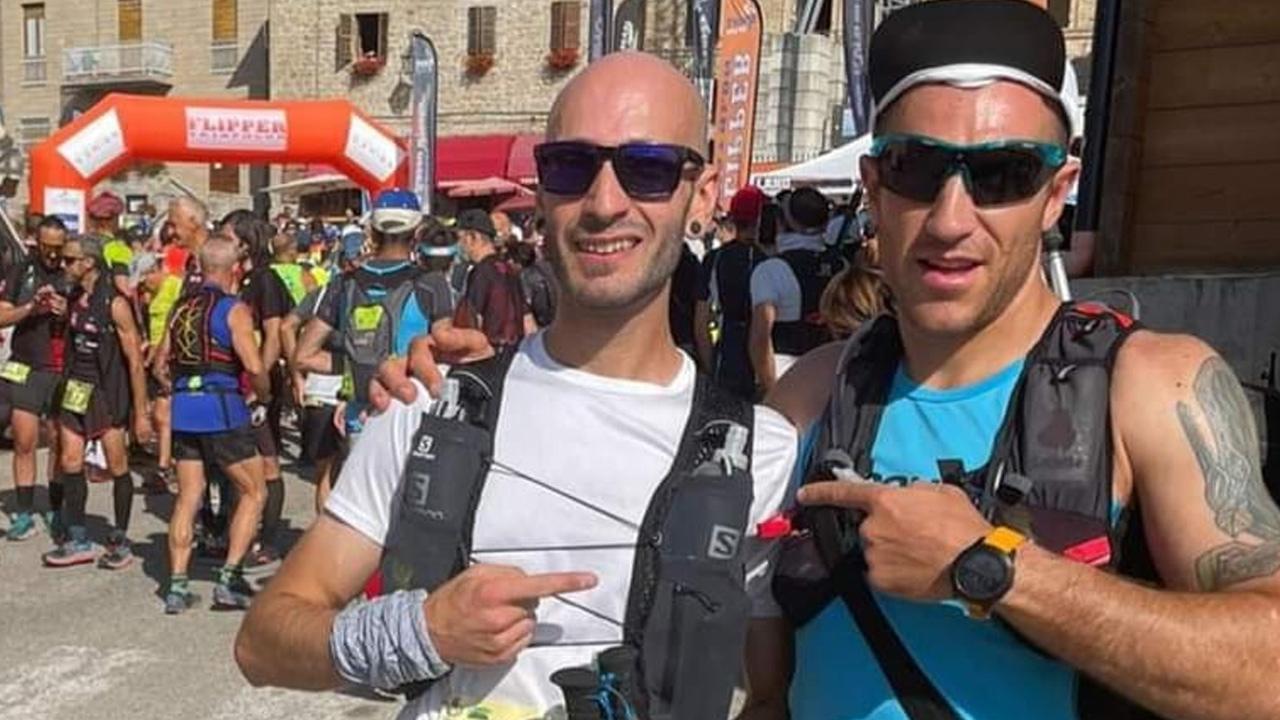 Quasi 100 chilometri di corsa in 30 ore. I due trail runner Alesi-Poli partono per il Grande anello dei borghi ascolani