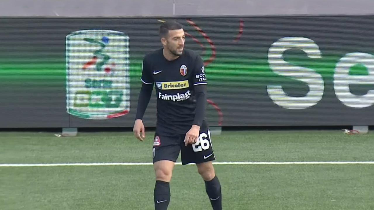 """Virtus Entella-Ascoli 0-0, Bidaoui: """"Spalla va molto meglio. Bravo Russo sul mio tiro nel finale"""""""