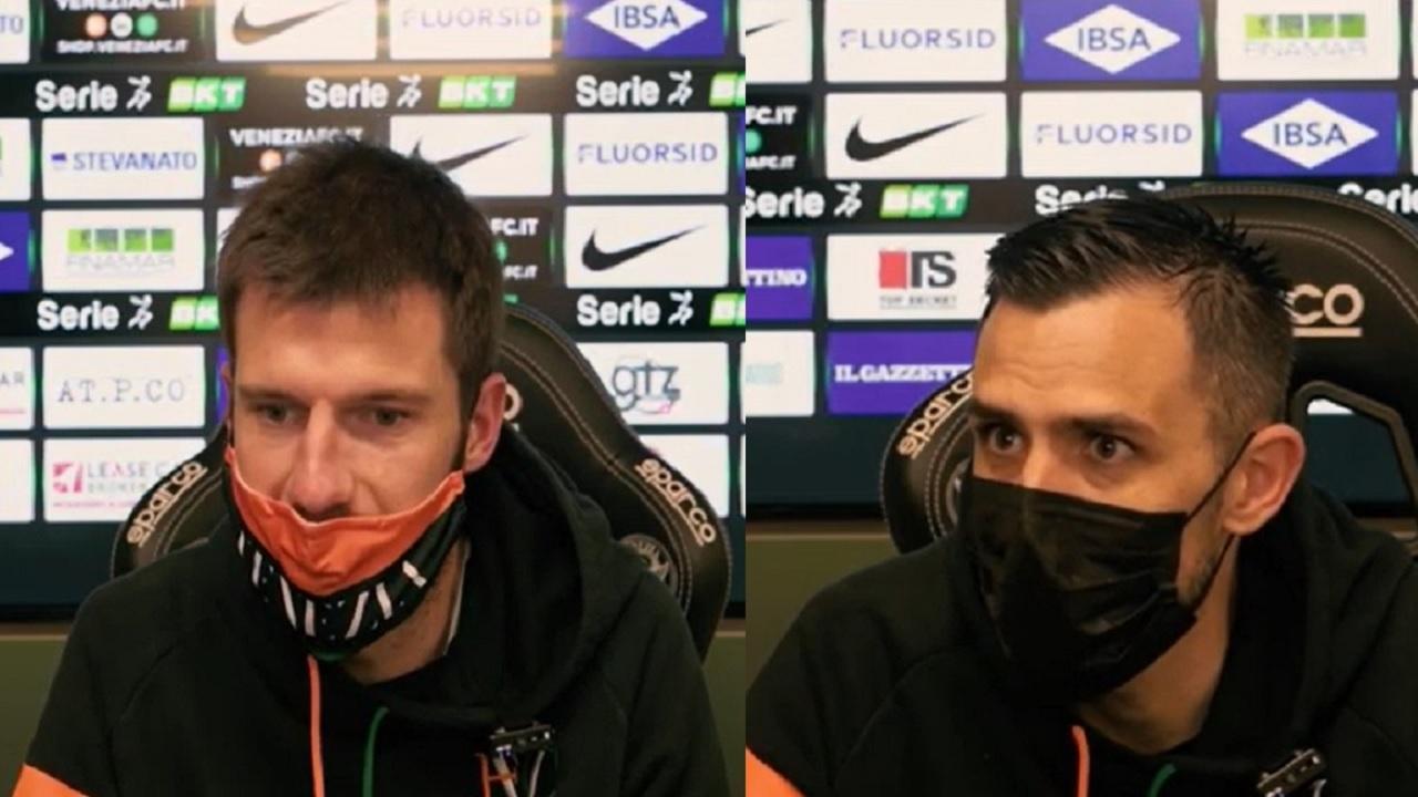 """Venezia-Brescia 0-1, voci Modolo (""""Adesso testa all'Ascoli"""") e Taugourdeau (""""Al Del Duca con grande umiltà"""")"""