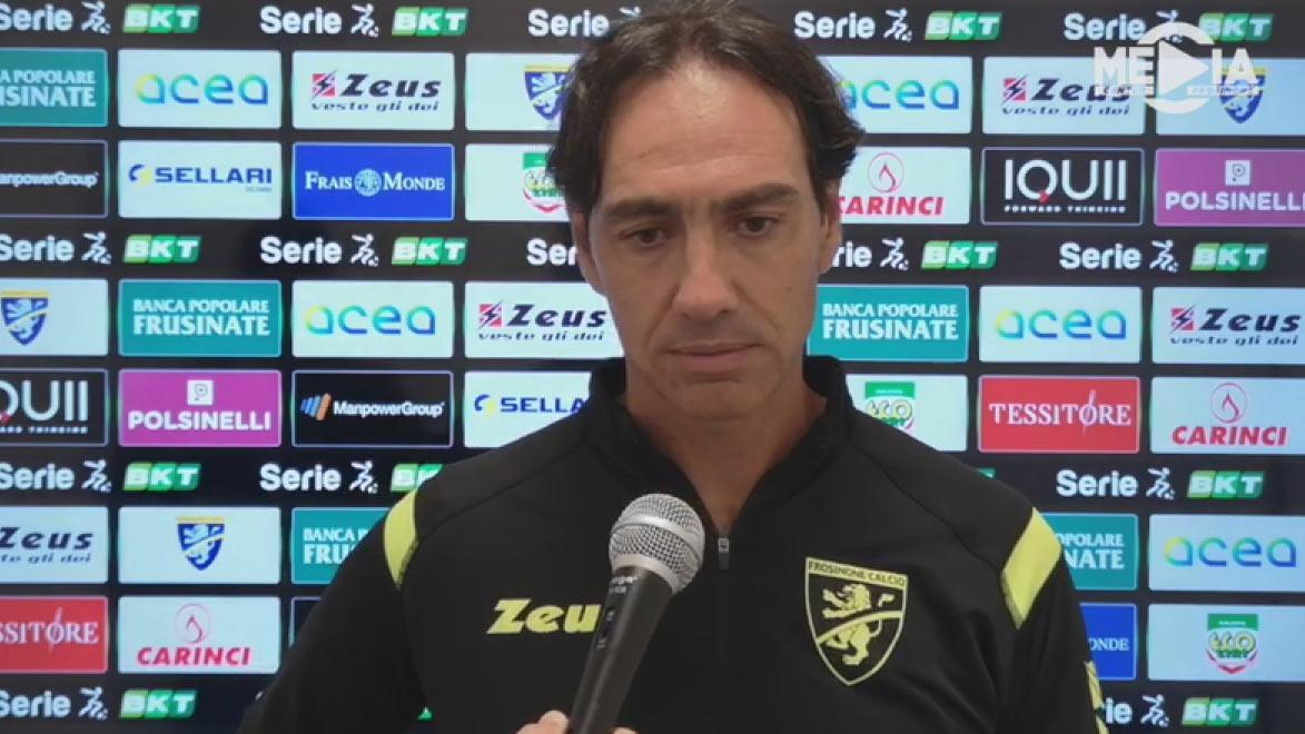 Frosinone-Empoli 0-2, le voci di Nesta e Dionisi post gara