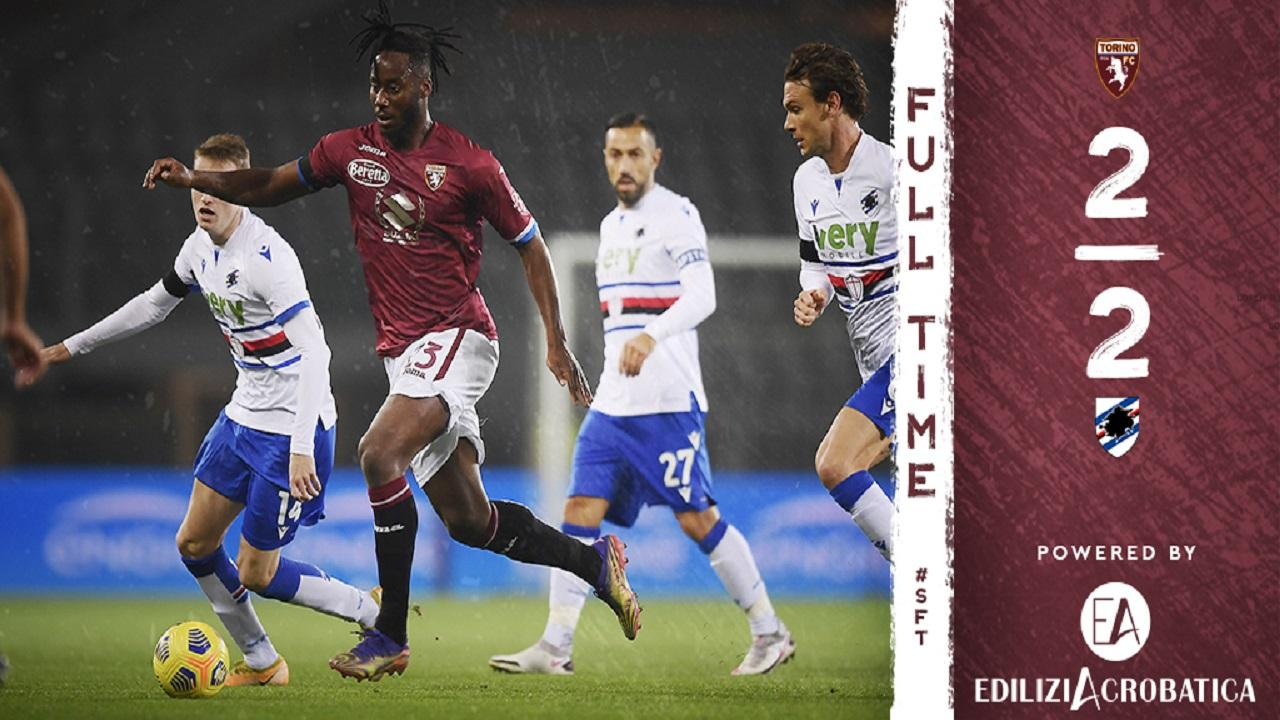 Foto da Twitter ufficiale Torino