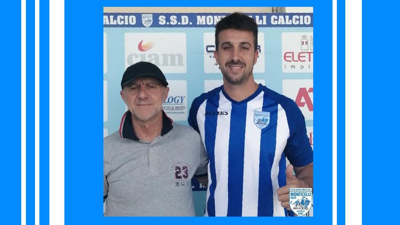 Monticelli Calcio, attacco rinforzato con l'arrivo dell'argentino Nicolini