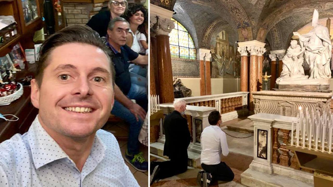 Ascoli Piceno, sindaco Fioravanti torna a casa: ''Grazie a tutti per la straordinaria vicinanza''