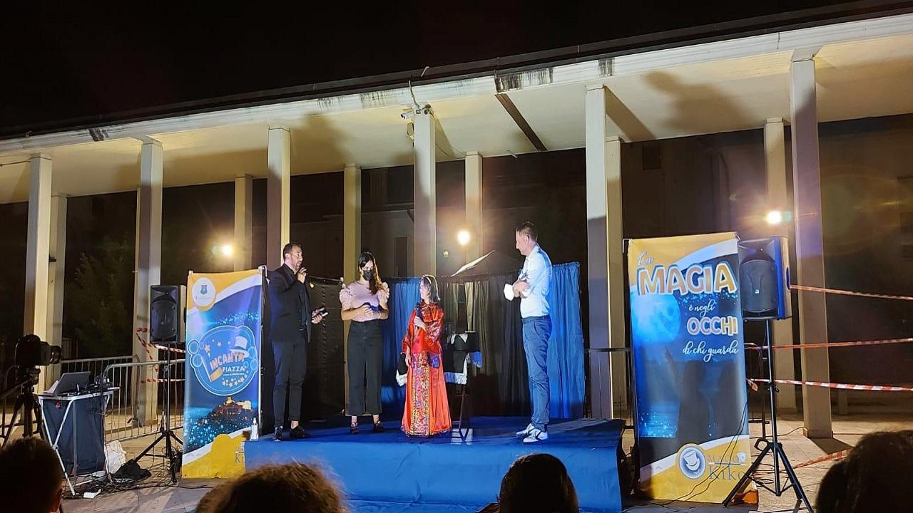 Monteprandone: per ''L'incantaPiazza'' appuntamento con Loran Magic Show