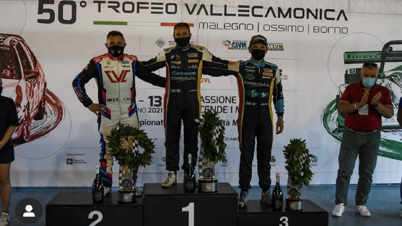 Civm, il toscano Faggioli domina il 50°  Trofeo Vallecamonica. Seconda piazza per Merli