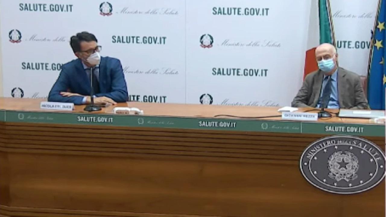 """Covid, Istituto Superiore Sanità e Ministero Salute: """"Rt scende a 0.82, lieve diminuzione dei ricoveri"""""""