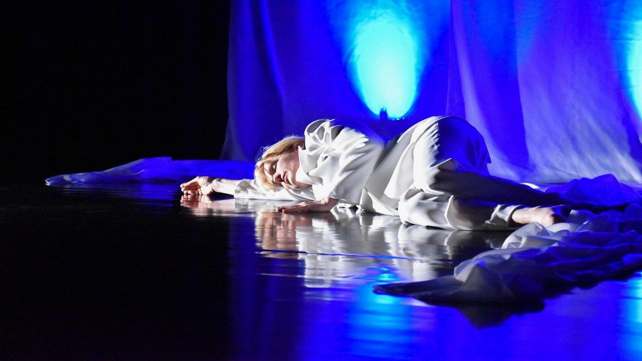 """''Teatro Madre in Marche a casa tua!'', Paola Giorgi in """"D La principessa Diana e la palpebra di Dio"""""""