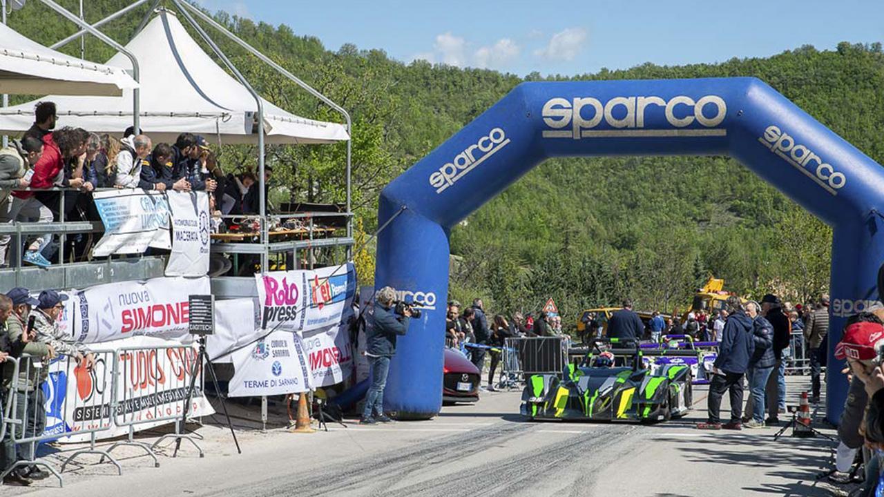 Trofeo Scarfiotti, Sarnano pronta ad accogliere la tappa del CIVM. Nuovo percorso allungato di 1 chilometro