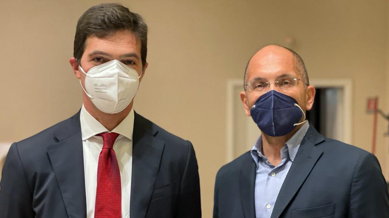 Francesco Acquaroli e Guido Castelli