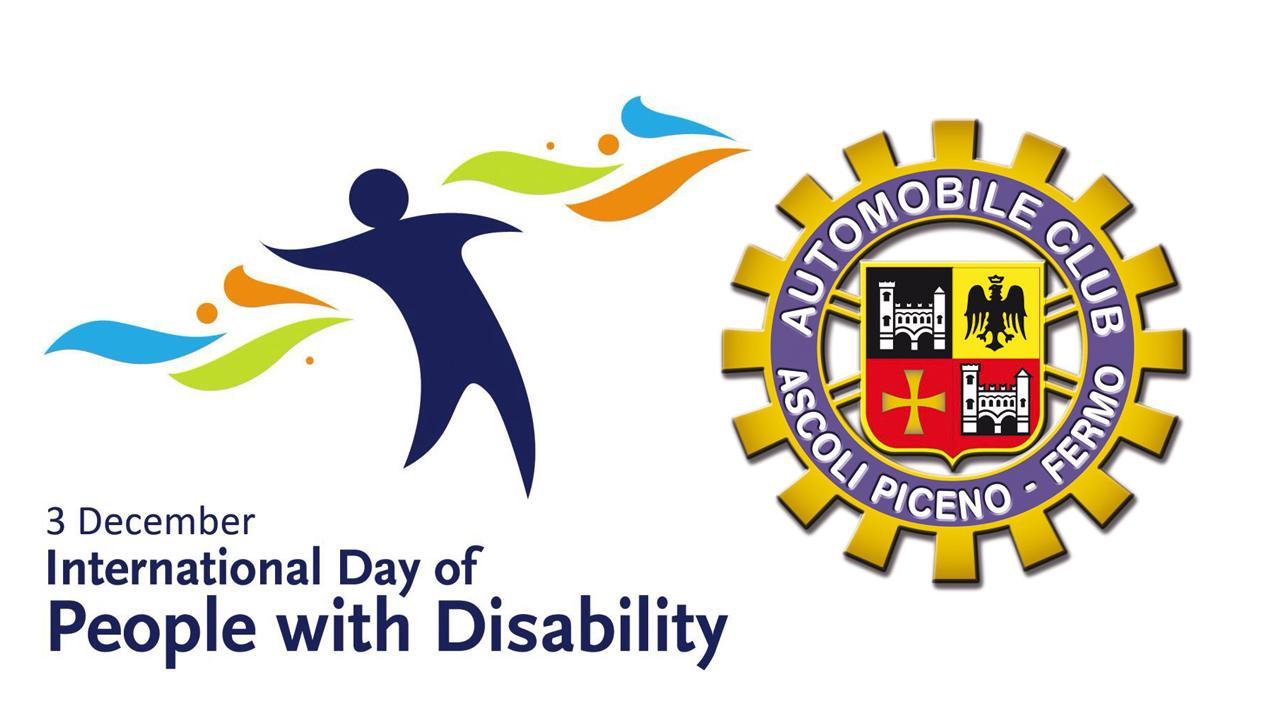 """Giornata della disabilità, Automobile Club Ascoli-Fermo: """"Accessibilità e inclusione diritti imprescindibili"""""""