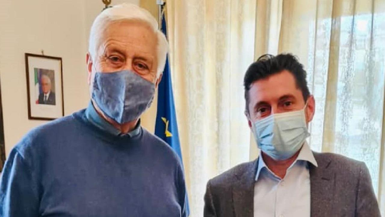 Luigi Salerno e Marco Fioravanti