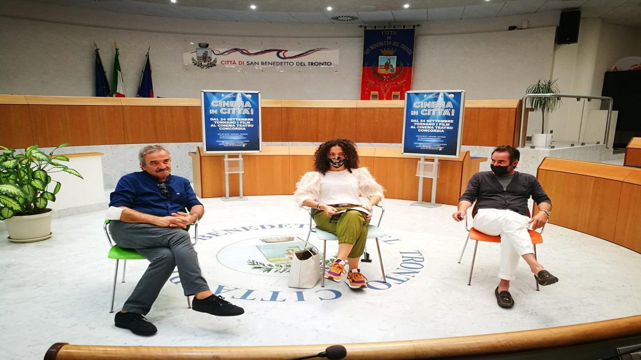 San Benedetto: Teatro Concordia, torna l'appuntamento con il cinema