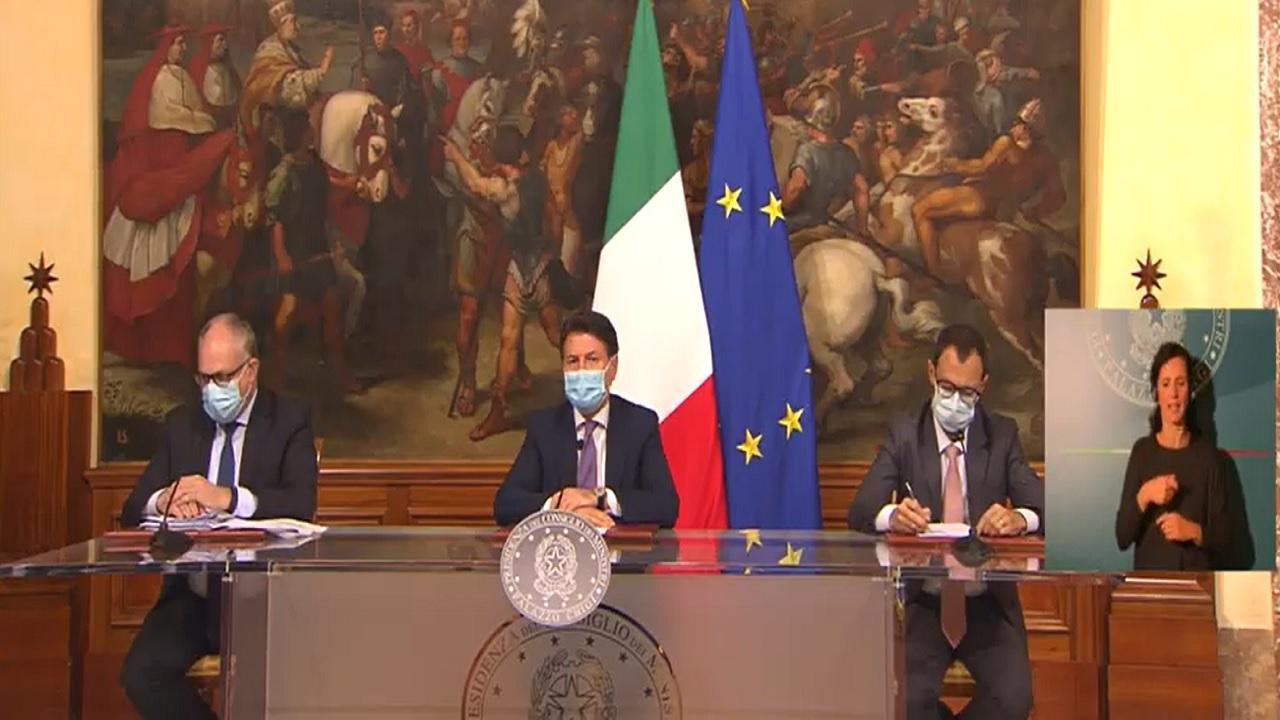 Gualtieri, Conte e Patuanelli