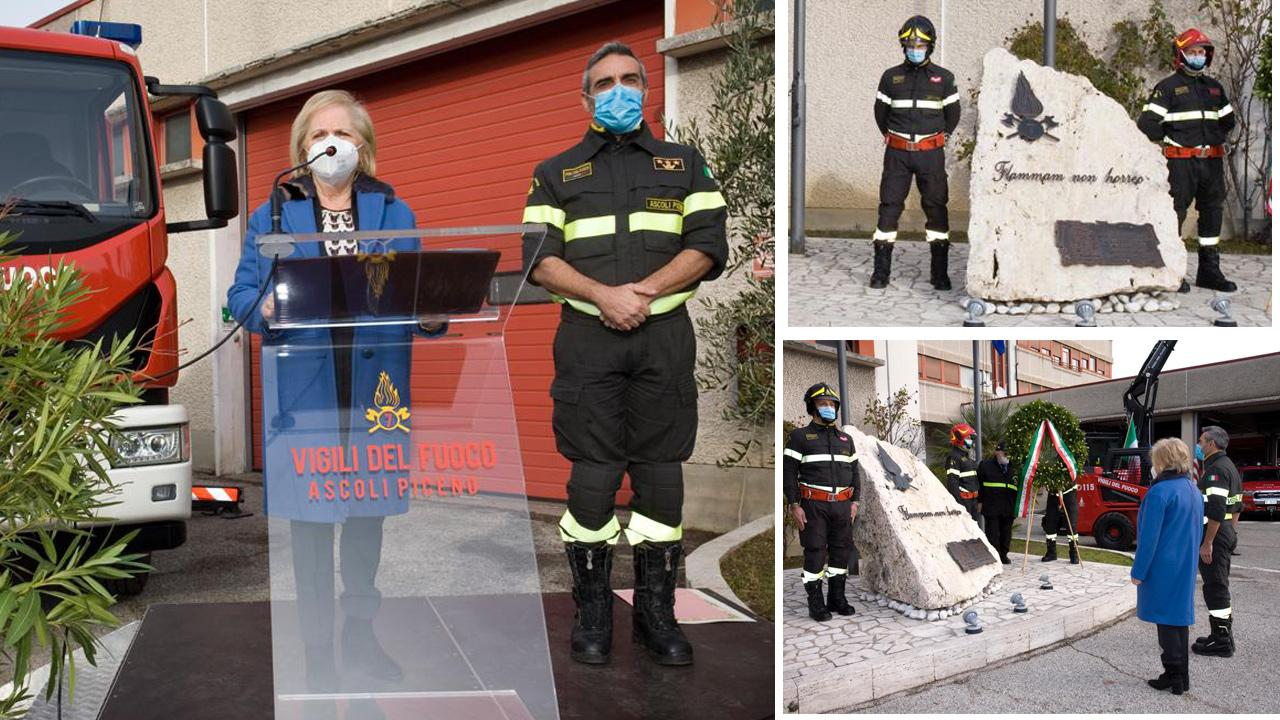 Vigili del Fuoco di Ascoli e San Benedetto celebrano Santa Barbara