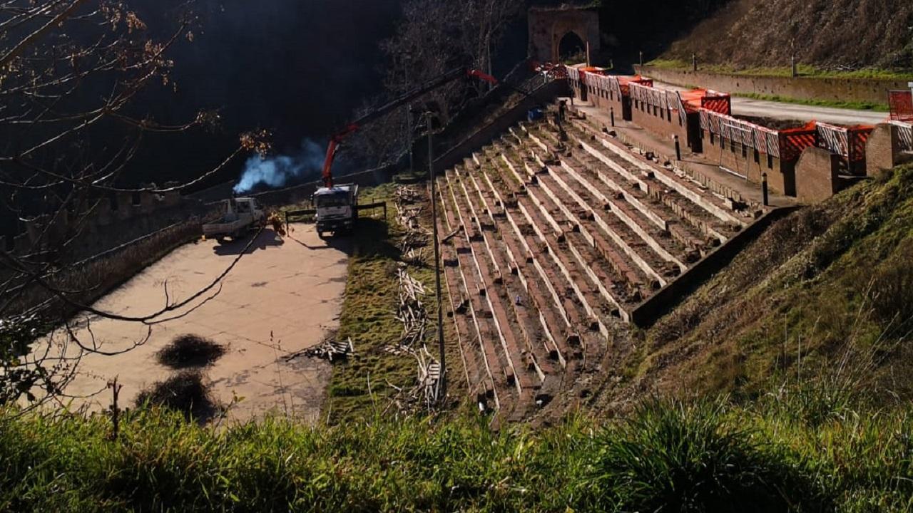 Ripatransone riavrà la sua arena degli eventi, partiti lavori restauro Teatro delle Fonti