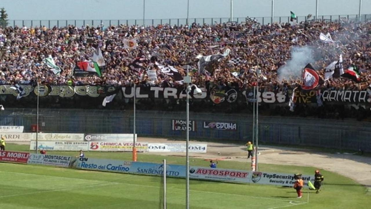 Curva Sud, Ascoli-Reggiana 17/05/2015