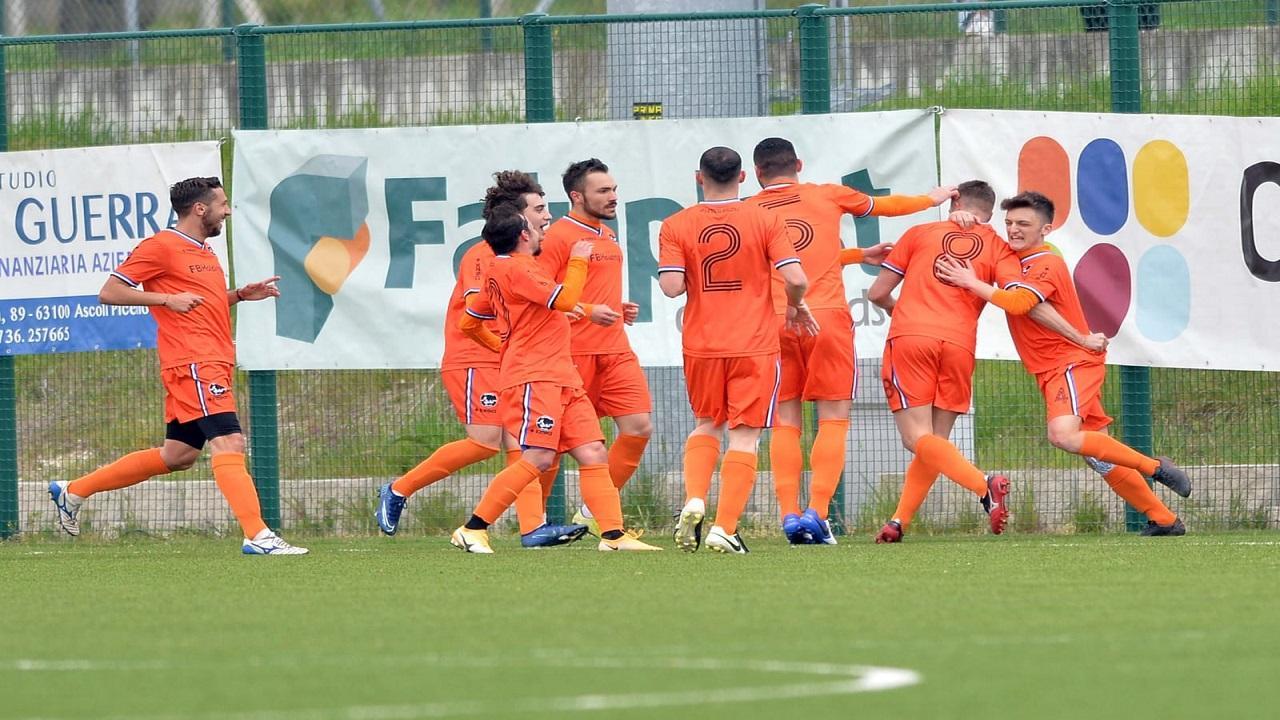 Atletico Ascoli, col Grottammare finisce 1-1. Non basta il gol in avvio di Raffaello