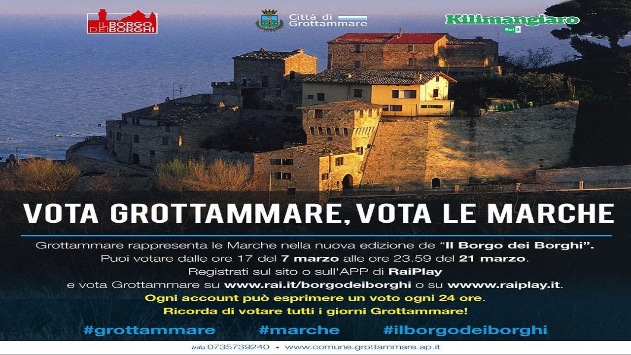 Grottammare: ''Il Borgo dei Borghi'', spazio sul web per la sfida tv