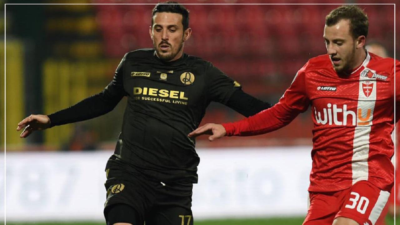 Monza-Vicenza 1-1, Dalmonte risponde a Maric. Nessun vincitore nel recupero al ''Brianteo''