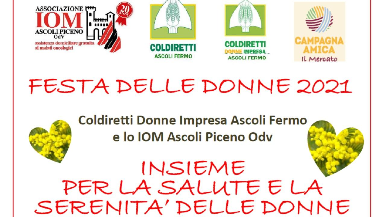 IOM Ascoli Piceno e Coldiretti Donne Impresa insieme per benessere e salute femminile