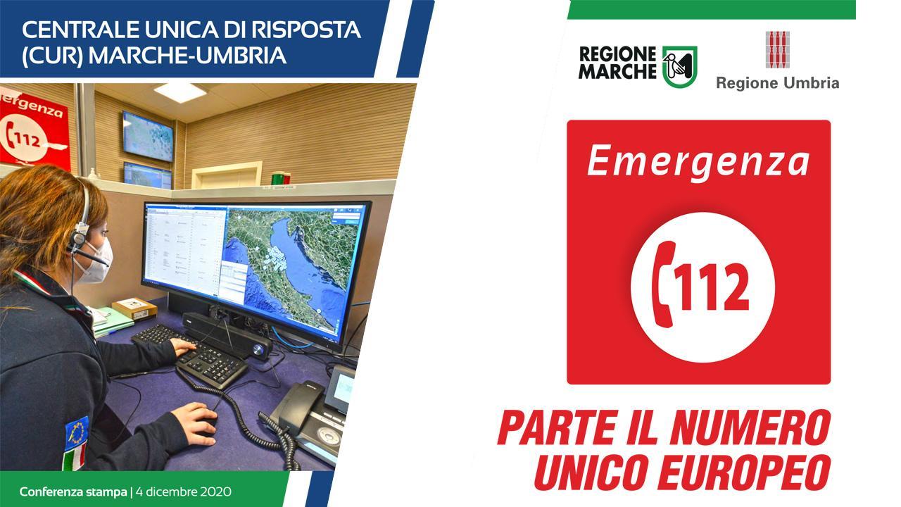 Emergenza, parte nelle Marche il Numero unico europeo (Nue) 112. In provincia di Ascoli attivo da Marzo