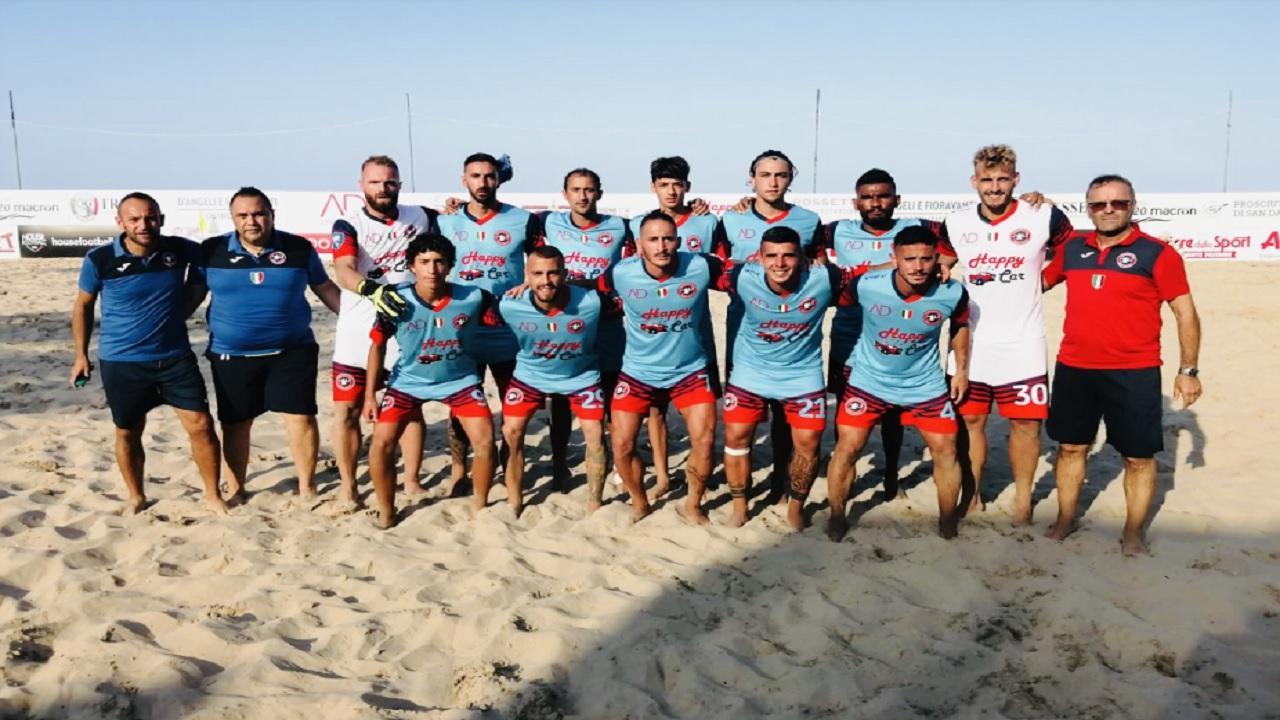 Beach soccer, la Samb vince nettamente sia al maschile che al femminile