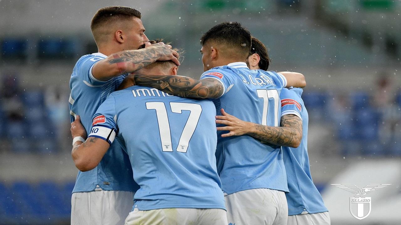 Foto da Twitter Lazio