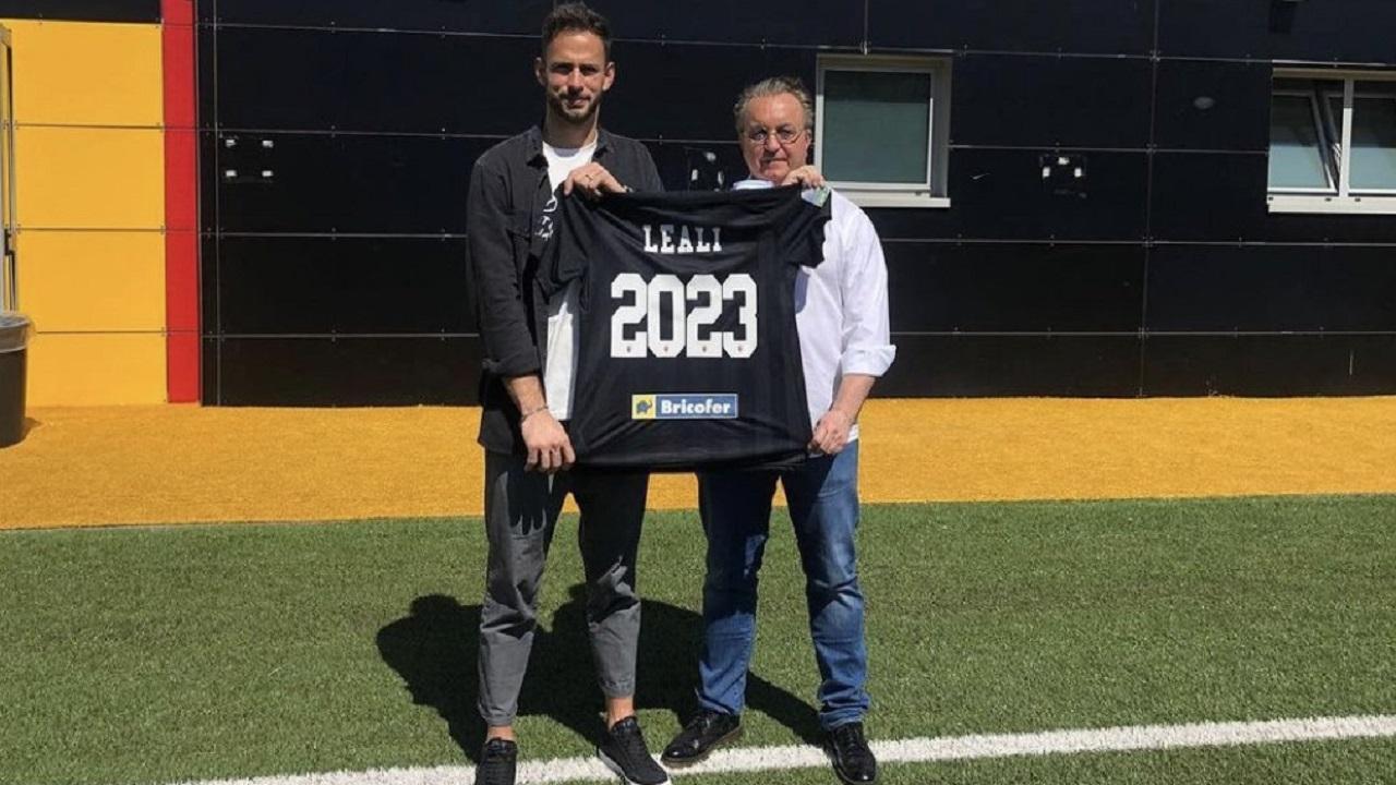 Nicola Leali e Massimo Pulcinelli