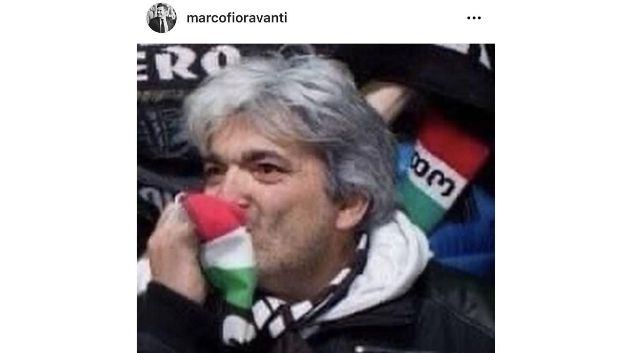 Foto da Instagram Marco Fioravanti