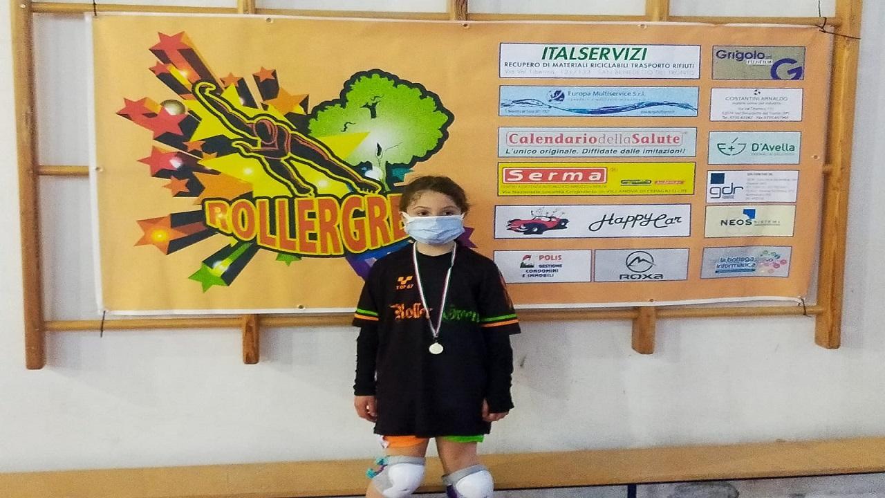 Pattinaggio freestyle: Monteprandone, brilla la Roller Green ai Campionati Regionali