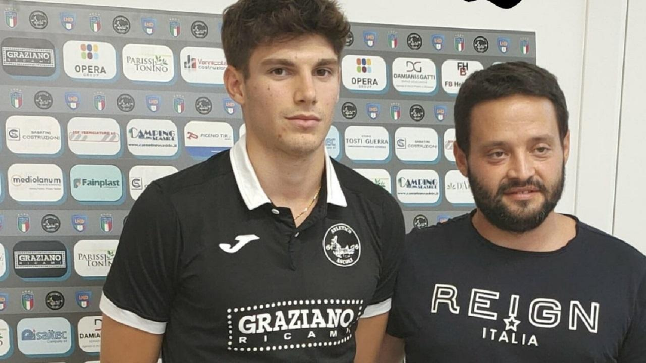 Atletico Ascoli, ingaggiato il terzino destro Cifani (classe 2002)