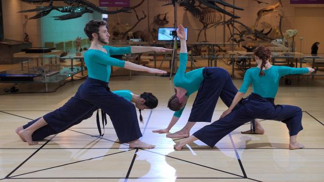 Amat, performance interattiva di danza con ''Genoma scenico'' di Nicola Galli