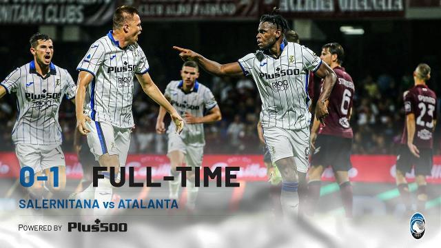 Salernitana-Atalanta 0-1, highlights