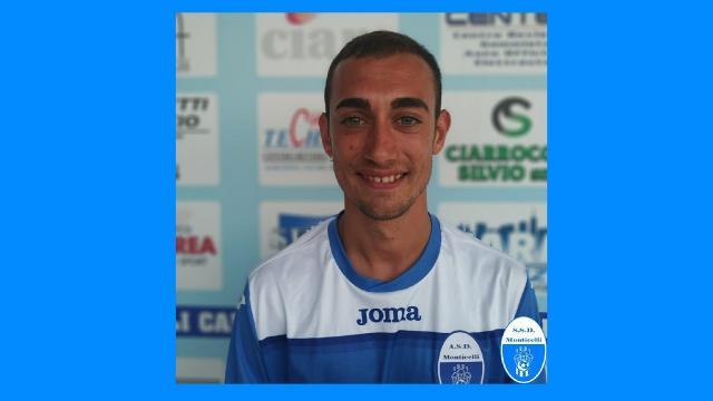 Monticelli Calcio, l'attaccante Gibellieri pronto ad iniziare quarta stagione in biancazzurro