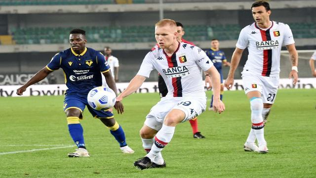 Verona-Genoa 0-0, highlights