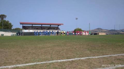 Promozione girone B, Monticelli sconfitto 2-0 sul campo del Monturano Campiglione