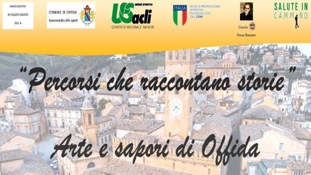 Unione Sportiva Acli Marche, ''Percorsi che raccontano storie'' fa tappa ad Offida