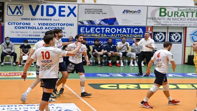 Pallavolo Serie A3, terza vittoria in otto giorni per una bellissima Videx Grottazzolina