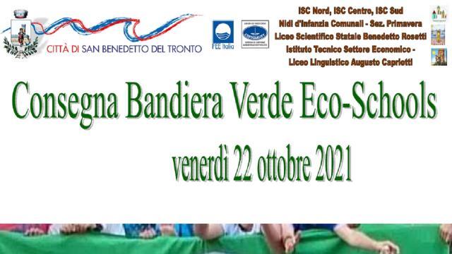 San Benedetto del Tronto: Eco–schools, consegnate le bandiere verdi