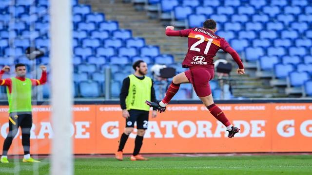 Roma-Spezia 4-3, highlights