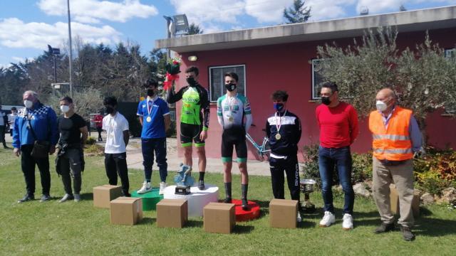 FCI Marche, quinto posto dell'allievo Fanelli al Trofeo Cicli Saccarelli