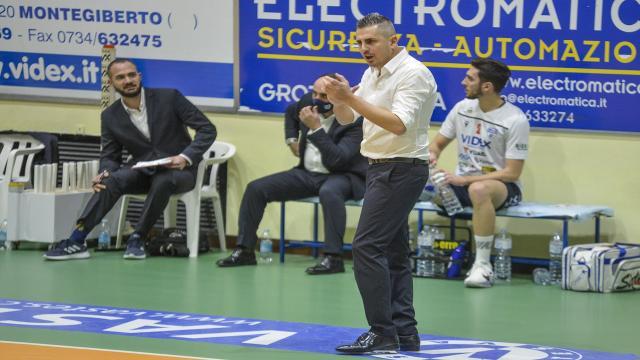 """Videx Grottazzolina, coach Ortenzi dopo l'eliminazione: """"Percorso importante ma abbiamo sciupato tanto"""""""