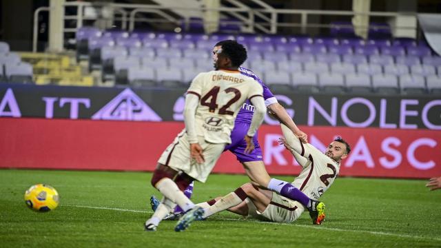 Fiorentina-Roma 1-2, highlights