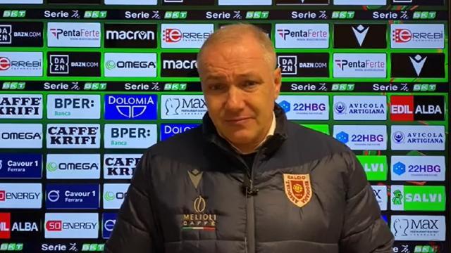 Spal-Reggiana 2-0: le voci di Marino, Alvini e Tomovic post gara