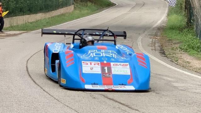 Campionato Italiano Velocità Salita Auto Storiche, la 4ª Coppa Faro è di Caliceti su Osella