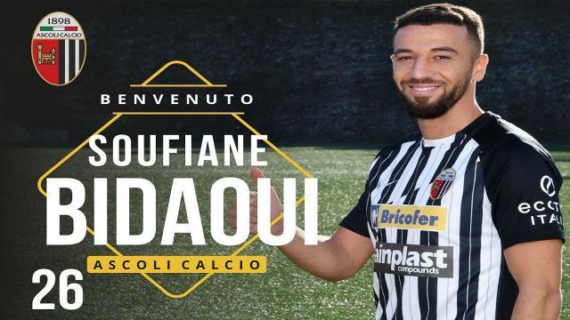 Ascoli Calcio, ufficiale Bidaoui. Il marocchino vestirà la maglia numero 26