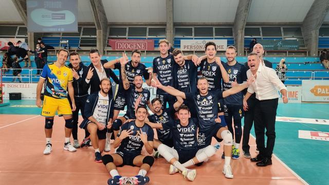 Pallavolo Serie A3, vittoria al tie-break a San Donà di Piave per la Videx Grottazzolina