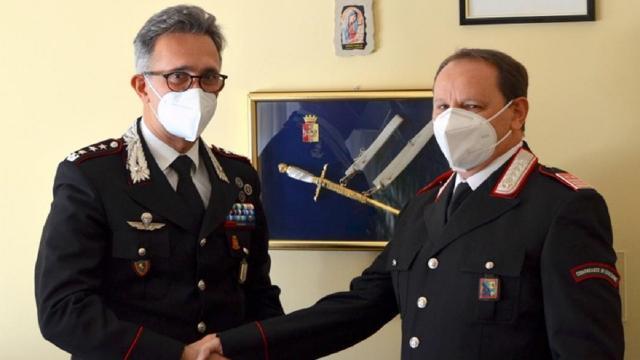 Carabinieri Monsampolo del Tronto, ''Carica Speciale'' per il Luogotenente Iesce