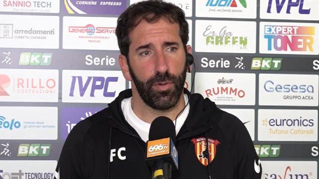 Benevento-Cosenza 3-0, le voci di Caserta (''Ho visto tanti miglioramenti'') e Zaffaroni